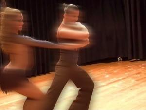 Miedo a bailar en escenario