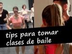 Tips para tomar clases de baile
